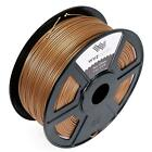 WYZworks Premium PLA ABS 1.75mm 3mm 3D Printer Filament MakerBot RepRap1kg/2.2lb