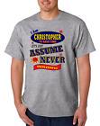 Bayside Made USA T-shirt Am Christopher Save Time Let's Just Assume Never Wrong