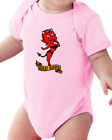 Infant Creeper Bodysuit T-shirt Bad Girl Devil