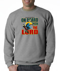 Gildan Long Sleeve T-shirt Christian Outfitters Skateboard Board With Lord