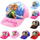 Kids Baseball Cap Adjustable School Girls Boys Cartoon Hat Summer Outdoor Sports