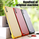 Mobile Phone Case Cover Matte Frameless for iPhone 6 6S 7 8 Plus X Xs Max Xr