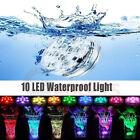 Underwater Light 10 LED Glow Show Swimming Floating Colorful for Pool Spa Pond $7.79 USD on eBay