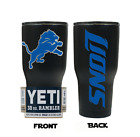(YETI) Detroit Lions (Laser Engraved 30 oz) Powder Coat NO VINYL on eBay