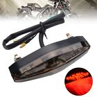 US 15 LED Light Motorcycle ATV Scooter Rear Tail Light Brake Running Universal