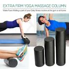 Black Extra Firm High Density Foam Roller Muscle Back Pain Trigger Yoga id image