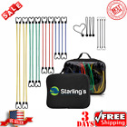 Starling's Bungee Cords & Hooks–Heavy Duty Bungie Straps Assortment (Set of 24)