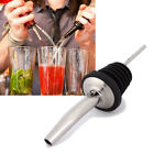 10*Stainless Steel Tapered Liquor Pourer Wine Beer oil Bottle Pour Spout Stopper
