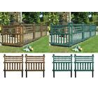 Garden Plastic Fence Panels Lawn Edging Garden Landscape Plant Border New