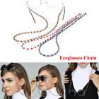 Women Eyeglass Chains Ropes Acrylic Beads Chains Eyewear Cord Holder Neck Strap image
