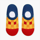 Colours Low Ankle No Men Cotton Invisible Loafer Socks Boat Show Women