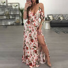 Womens Summer Formal Long Maxi Dress Bridesmaid Wedding Evening Party Prom Gown