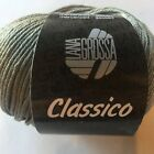 Lana Grossa Classico Cotton Yarn Trim Scarf Sweater Wrap Knit Crochet