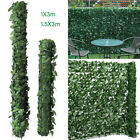 3mx1m/1.5m Artificial Screening Ivy Leaf Hedge Panels Roll Privacy Garden Fence