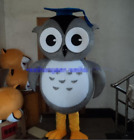 Owl Mascot Costume Animal Cosplay Party Fancy Dress Outfit Advertising Adults