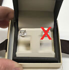 1.5 TCW Asscher Princess Square Cut Diamond Stud Man Made 14k Solid One Earring