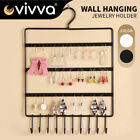 Wall Hanger/rotate/48holes Jewelry Stand Earrings Rack Display Holder Organizer