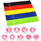 Elastic Resistance Loop Bands Gym Yoga Exercise Fitness Workout Stretch KW, used for sale  USA