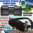 bluetooth subwoofer wireless outdoor speakers waterproof power bank bass