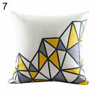 EE_ WO_ GEOMETRIC PATTERN SQUARE RECTANGLE PILLOW CASE CUSHION COVER CAR SOFA BE