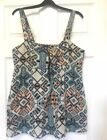 Tribal Aztec Print Top African Native American Boho Hippy Festival 14 By Topshop