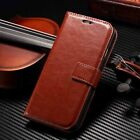 Brown Luxury Flip Stand Wallet Book Leather Case For Apple SE 5 6s 6 Plus 7 8 X
