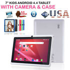 7 inch Android Tablet 4GB Quad Core 4.4 Dual Camera Wifi Bluetooth PAD HOT USA