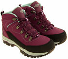 Ladies NORTHWEST TERRITORY Leather Waterproof Walking Hiking Trail Boot Size 5-8