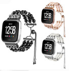 Elastic Agate Watch Band Strap Bracelet For Apple Watch Series 4 3 2 44/40/42MM image