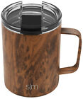 Simple Modern Scout Coffee Mug Vacuum Insulated - Travel Clear Lid Tea Cup