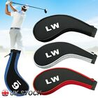Golf Clubs Head Covers 12pcs Set Wear-resistant Headcovers Long Neck Protector
