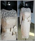 Tea Length Mother of the Bride Outfits Lace Formal Evening Party Dresses Custom