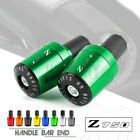 Handle Bar Grips End Weights Caps Plugs for Kawasaki Z750 Z 750 Z750R Z750S