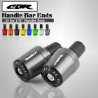 Handle Bar Grips End Weights Caps Plugs Slider for HONDA CBR600RR 900RR 954 929
