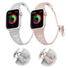 Women's Diamond Strap for Apple Watch Series 4 3 2 1 IWatch Band 38/42mm 40/44mm image