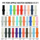 FixedPricereplacement silicone band for apple watch series 4 3 2 1 38mm 40mm 42mm 44mm