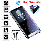 32GB Bluetooth MP3 Player MP4 Media FM Radio Recorder HIFI Sport Music Speakers
