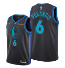 Kristap Porzingis #6 Dallas Mavericks Men's Black City Edition Jersey on eBay