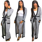 Women long sleeves print casual club party bodycon jumpsuit outfits 2pc