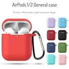 For Apple AirPods 1/2 Case Silicone Protect Cover Skin Earphone Charger Cases £3.59  on eBay