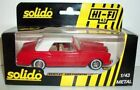 SOLIDO 1/43 - 1512 BENTLEY CONTINETAL - RED / WHITE ROOF