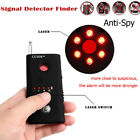 Full Range Wireless Anti Spy Camera Cell Phone GPS RF Bug Signal Detector USA