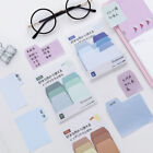 Gradient Color Cute Sticky Notes Planner Sticker Page Index School Office Supply