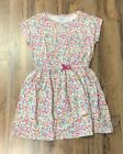 Gymboree Girl's Short Sleeve Cotton Floral Print Dress NWT