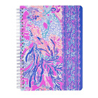 Lilly Pulitzer Mini Notebook with Lined Sheets and Pocket, Choose Design