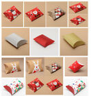 Xmas Pillow Gift Boxes - Jewellery Favour Christmas Box - 12 Pack