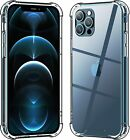 Hard Hybrid Shockproof Clear Case For iPhone 11 Pro XS Max XR X 6 6s 7 8 Plus 11