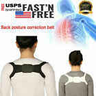 Invisible Men Women Back Posture Orthotics Corset Spine Support Belt Correction