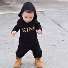 FixedPricenewborn toddler infant baby boy kid king romper jumpsuit bodysuit clothes outfit