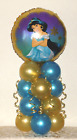 JASMINE -  DISNEY PRINCESS - FOIL BALLOON DISPLAY - TABLE CENTREPIECE DECORATION